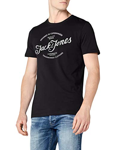 Fit T Neck Shoe Tee Jornewraffa reg tap Nero amp; Jones Ss Uomo Crew Jack shirt Noos w8qYf6n