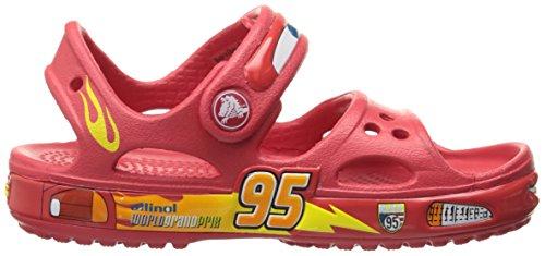 Crocs Crocband II Cars Sandal (Toddler/Little Kid), Red, 6 M US Toddler by Crocs (Image #7)