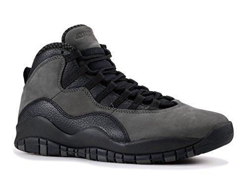 NIKE Air Jordan 10 Retro Men's Shoes Cool Grey/Cool Grey/White 310805-022