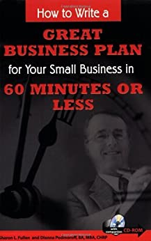 how to write a great business plan amazon