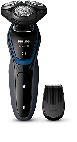 Philips Dry Electric Cordless Shaver with Precision Trimmer head, Series 5000, S5100/08 (Certified Refurbished)