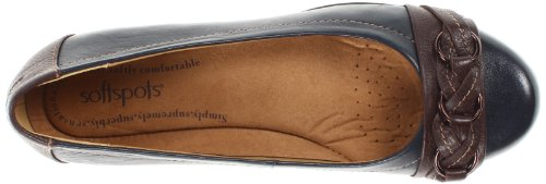 Softspots - Donna - Posie Navy Chocolate
