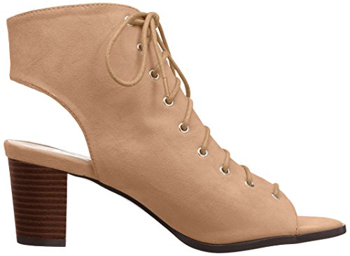 Brinley Co Womens Plum Ankle Boot Taupe PtybiK