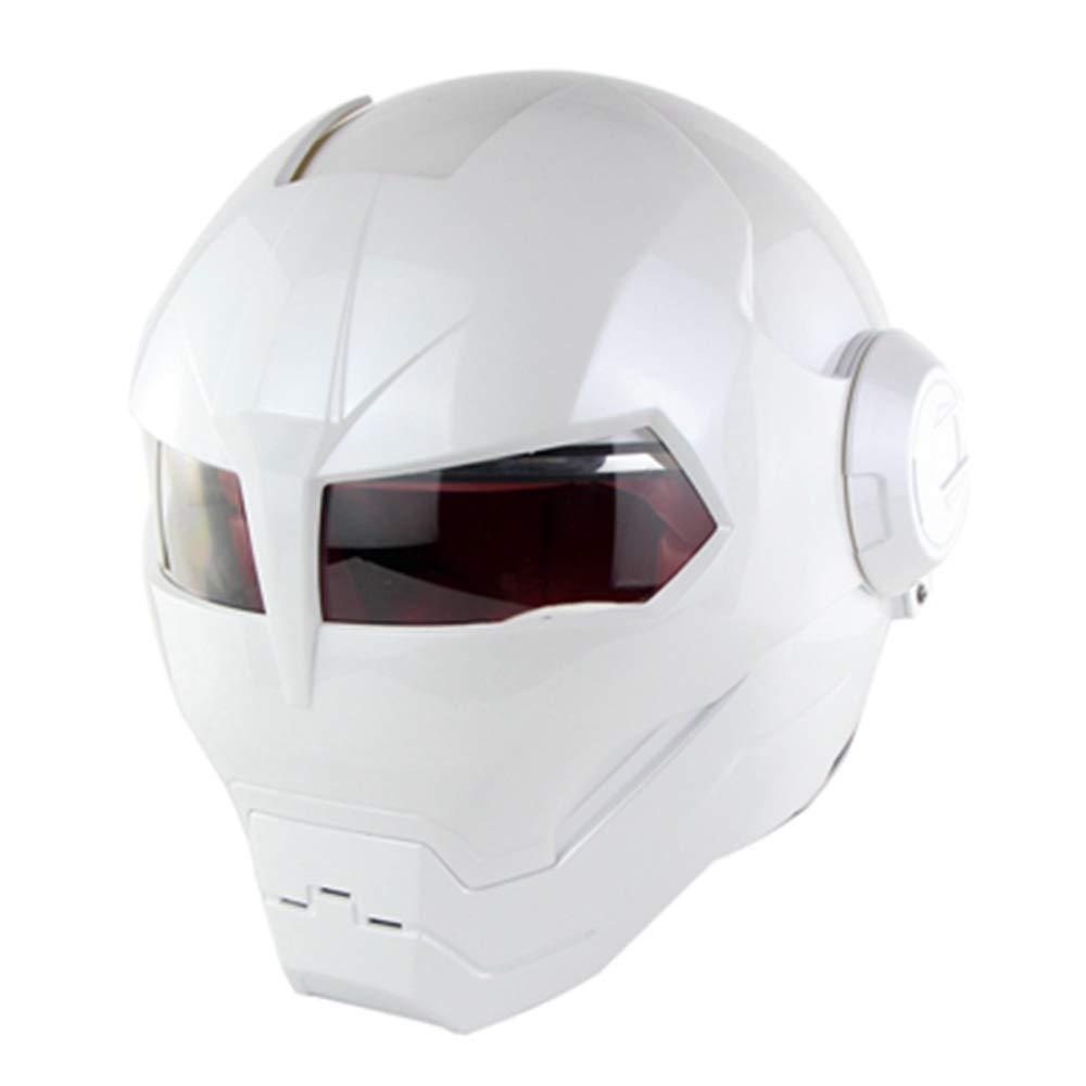 Casque de Moto Iron Man Casque Complet Transformers Casque de Moto Casque Complet Ghost Claw Certification ECE Quatre Saisons de Casque sur Route