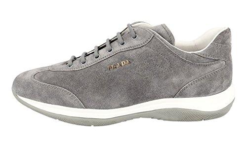 Prada Kvinners 3e5793 Skinn Sneaker Prada Kvinners 3e5793 Skinn Sneaker ...