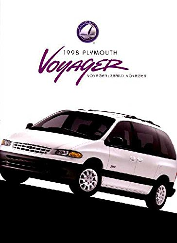 (1998 Plymouth Voyager Sales Brochure Literature Book Advertisement Options Specs)