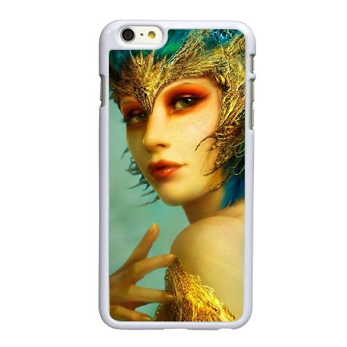 Y1E72 fille fantastique P2I0UL coque iPhone 6 4.7 pouces cas de couverture de téléphone portable coque blanche KP0HTZ6EB
