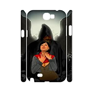 Samsung Galaxy Note 2 N7100 Terrorist 3D Art Print Design Phone Back Case Personalized Hard Shell Protection HG086117