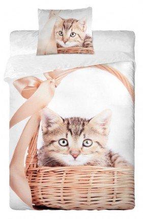 Parure de lit housse de couette Chat Chaton 100% coton  Amazon.fr ... 75d6ed31cdfa