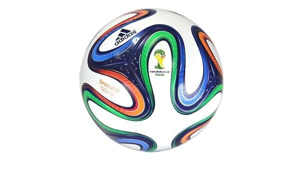 adidas Brazucatopgli - Balón, Color Blanco/Dorado, Talla 5: Amazon ...