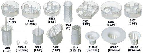 Kerr 6400-C Dispos-a-Trap Disposable Evacuator Trap, 1-5/8'' Diameter (Pack of 144)