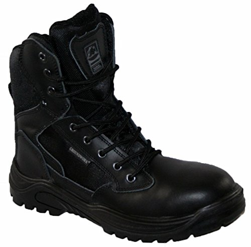 Steel Toe Cap Combat Tactical Safety Ankle Boots Security Military Police...