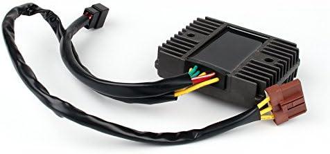 Artudatech Regulador de voltaje para motocicleta rectificador regulador de voltaje para Apri-lia Atlantic 125 250 ie 500 Sprint