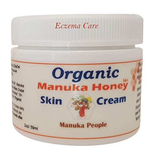 Organic Manuka Honey Intense Moisture Baby Skin Cream By MANUKA PEOPLE for Eczema, Psoriasis, Rosacea Or As An All Purpose Cream. A Lasting Treatment for Dry, Cracked, Itchy, Red & Irritated Skin (Best Manuka Honey Cream)