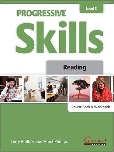 Progressive Skills in English Level 3 Reading Course Book and Workbook