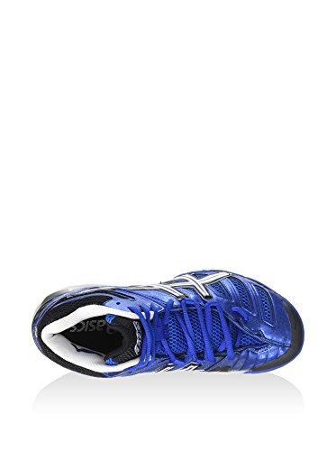 Asics Gel-Sensei 4 MT - Scarpe da Pallavolo Uomo - Classic Blue/White/Black (4201)