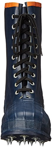 Calzature Viking Spiked Forester Caulk Boot Nero / Arancio
