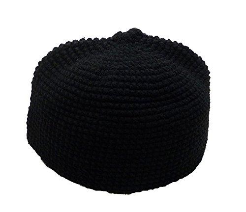 Al Ameen Amn001 Muslim Crochet Kufi Hat Taqiyah Takke Skull Cap