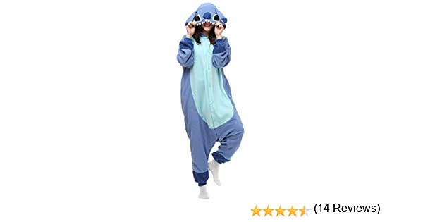Disfraz de Mono Lilo and Stitch para Mujeres y Hombres Adultos ...