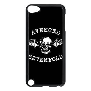 iPod Touch 5 Case Black Avenged Sevenfold qrt