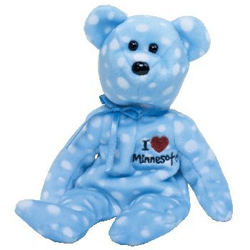(TY Beanie Baby - MINNESOTA the Bear (I Love Minnesota - State Exclusive))