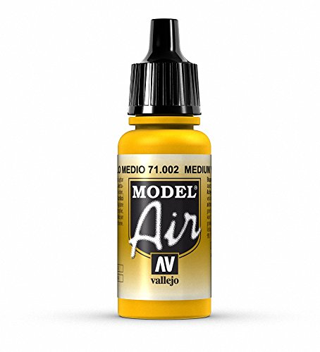 Yellow Air - Vallejo Yellow Paint, 17ml