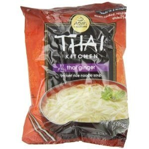 Thai Kitchen Thai Ginger & Veg Instant Noodle, 1.6000-Ounce (Pack of 12)