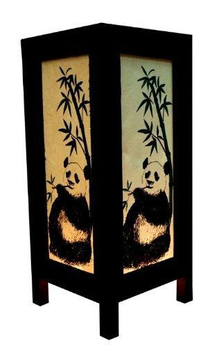 Thai Vintage Handcraft LOVELY PANDA TABLE LAMP Modern Design by Indy Thai Shop