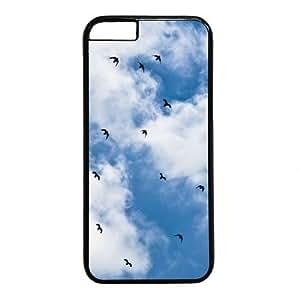 Blue Unique Disruptive pattern Phone Case for Iphone 6