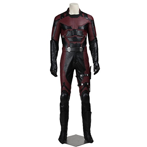 CosplayDiy Men's Costume Suit for Daredevil Superhero Cosplay XXL