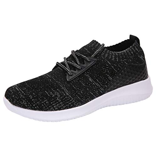 Running Shoes for Women Under 20 Dollars,New Women's Shoes Mesh Shoes Leisure Sports Shoes are Breathable in Summer Shoe Black]()