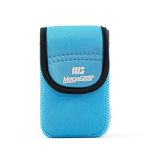 - MegaGear ''Ultra Light'' Neoprene Camera Case Bag with Carabiner for Canon PowerShot G7 X, Canon PowerShot G7 X Mark II, Nikon COOLPIX AW130, S9900, Olympus STYLUS XZ-2 Digital Camera (Blue)