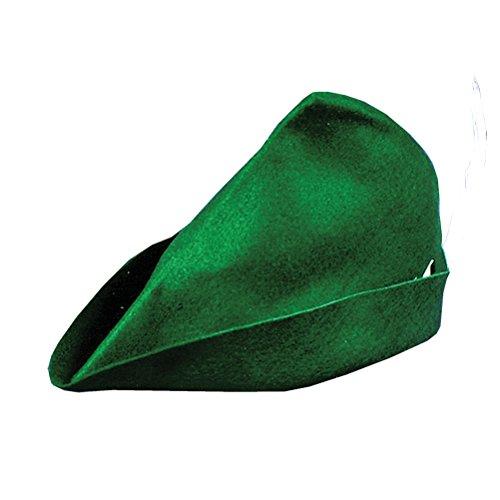 Felt Elf Hat Peter Pan Costume Reniassance Theatre Christmas Felt Cap