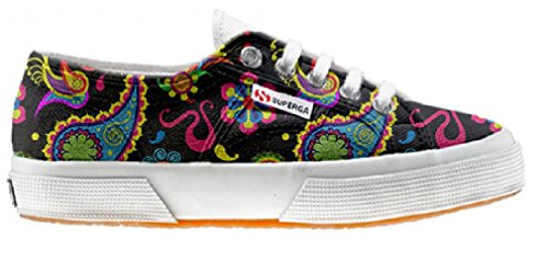 Superga Customized Chaussures Coutume Fluo Pasley (produit artisanal)