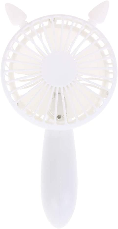 Sala-Deco Mini USB Charge Desk Fan 180 Degree Rotatable Fans With 3 kinds of wind strength for Home Office L3FE