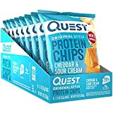 Quest Protein Chips Cheddar Sour Cream (8 Bags)