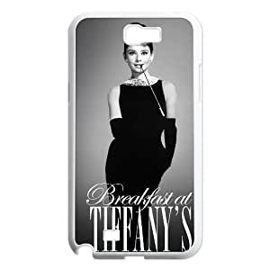 Audrey Hepburn Classic Personalized Phone Case for Samsung Galaxy Note 2 N7100,custom cover case ygtg-786113