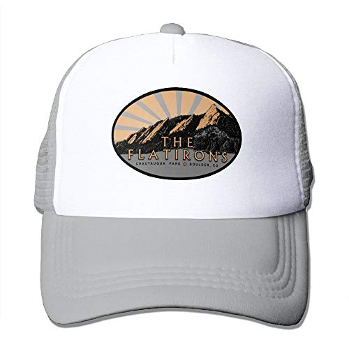 MAICHAOSHIZI The Flatirons, Chautauqua Park, Boulder Colorado Men&Women - Ghb Flat Iron
