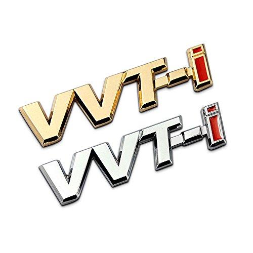 3D Metal VVT-I Car Side Fender Rear Trunk Emblem Badge Sticker Decals for Toyota Camry Lexus Is Es Rx by BENBW (Image #3)
