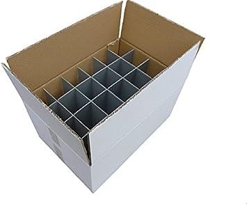 Copa de vino caja de almacenaje   Con orificio en forma de vasos   Resistente - caja