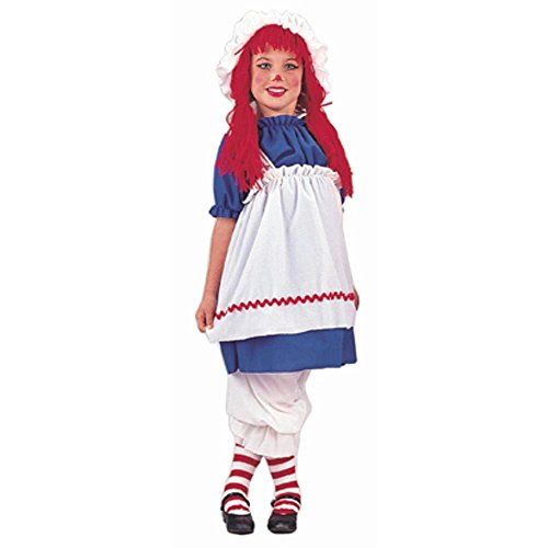 Rag Doll Kids Costume (Rag Womens Doll Cap)