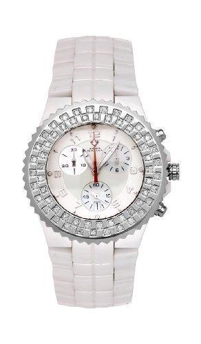 NEW! Aqua Master Ladies' Ceramic Diamond Watch, 1.25 ctw by Aqua Master