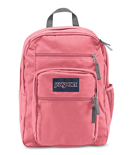 JanSport Big Student Backpack - 15-inch Laptop School Pack, Strawberry Pink