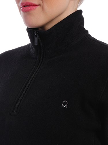 Noble Mount Women's Soft Fleece Half-Zip Pullover
