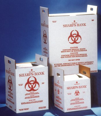 Sb2500 94 6 L  25 Gal     Sharps Bank Waste Disposal Unit  Whitney Medical Solutions   Case Of 10  25 Us Gal