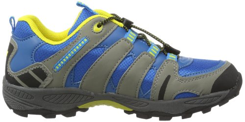 Lico Fremont - Zapatillas de senderismo infantil Azul (Blau (royalblau/grau/schwarz))