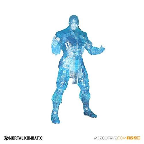 Mezco 2015 Con Exclusive Exclusive Mortal Kombat X Ice Clone Sub-Zero