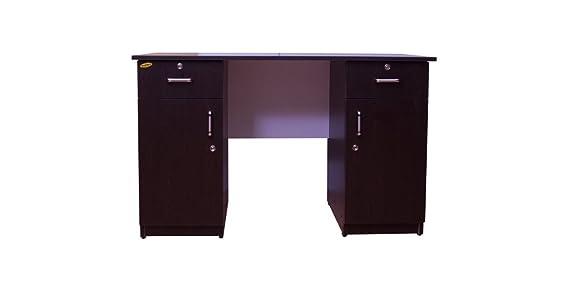 Wood Worx Study Table, 121X60X30 cm  Wenge  Desks   Workstations