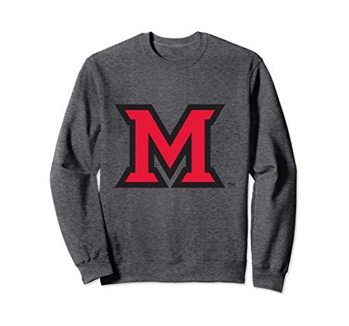 - Miami University MU RedHawk NCAA Crew Neck Sweatshirt 15MU-1