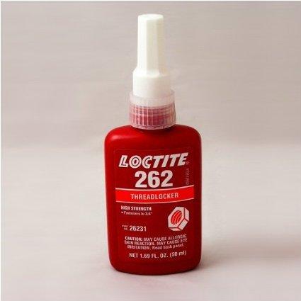 Loctite Threadlocker 262, High Strength, 50 ml Bottle